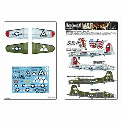 Kits-World KW172223 1/72 Boeing B-17G Flying Fortress Nose Art • 10.95£