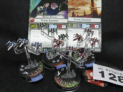 4 Painted X-Wing Squadrons - Star Wars Armada - Inc Wedge • 13.99£