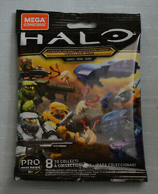 CHOOSE MiniFigures > Mega Construx CNC84 Halo Clash On The Ring (NEW & SEALED) • 10£