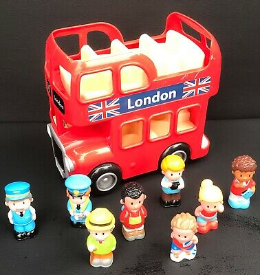 ELC Happyland London Bus With Sounds And People Toy • 8.50£