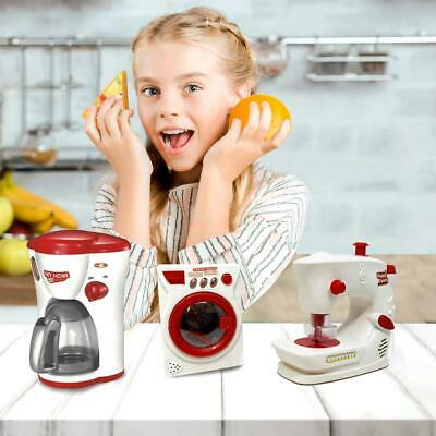 Kids Toy Kitchen Play Set My First Microwave Coffee Maker Pretend Play • 14.99£