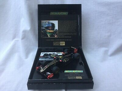 Scalextric C3269A Lotus Renault R31-2011 Bruno Senna Commemorative Ltd Ed BNIB • 35£