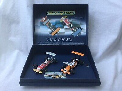 SCALEXTRIC C3544A McLaren M7c & Team Lotus Type 49 2 Car Set Ltd Edition BNIB • 36£