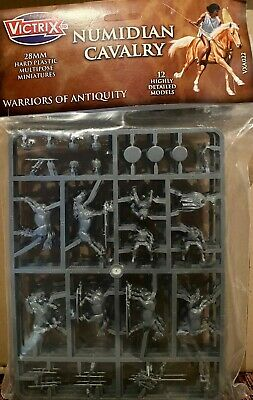 VICTRIX 28mm Numidian Cavalry (x12 Mounted Miniatures) • 20£