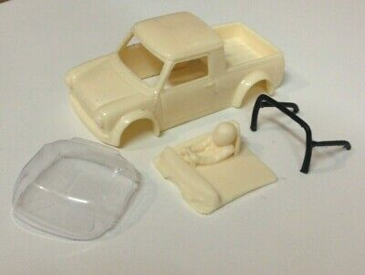 Scalextric 1/32 Scale Mini Pickup Resin Bodyshell Kit Fits Pcs32 • 26£