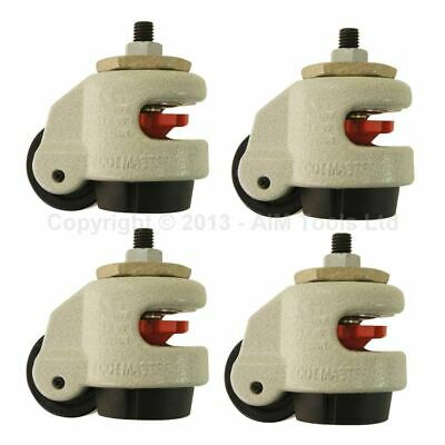 Heavy Duty Foot Master Wheel GD-60S 4PCS SET • 44.99£