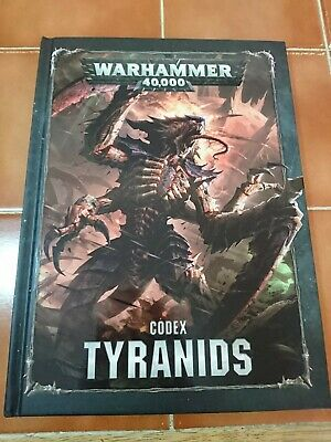 Tyranid Codex - Warhammer 40k 40,000 Games Workshop Rules • 6£