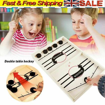 Family Games Table Hockey Game Catapult Chess Parent-child Interactive Toy UK • 10.29£