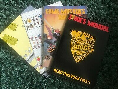 1985 Judge Dredd Role Playing Game From Games Workshop • 11.20£