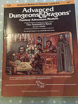 Advanced Dungeons And Dragons The Assassin's Knot Module L2 AD&D 1983 • 11.50£