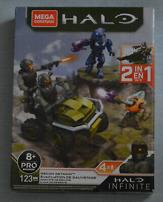 MEGA Construx Halo Infinite - Recon Getaway (Mongoose/scout Speeder + 4 Figures) • 18.99£