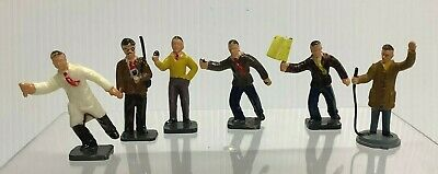 Vintage Corgi Silverstone Figures Track Officials From Set 1503 Plus 1 (perfect) • 19.99£