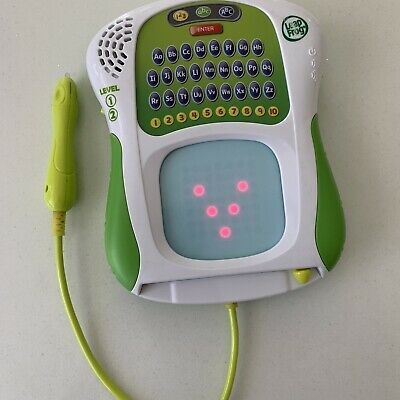 LEAPFROG Scribble And Write Educational Letters And Numbers WORKING • 5.99£