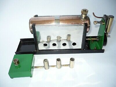 Wells Stationary Steam Engine Schools Engine Like Mamod. • 85£