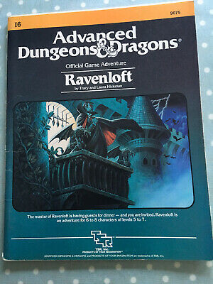 Ravenloft Module I6 Dungeons And Dragons 1983 AD&D • 20£