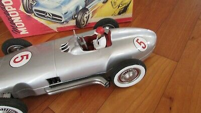 JNF 1950's Tin Toy Race Car 13  Famous Mercedes Benz W 196 Made W Germany 1950's • 509.74£