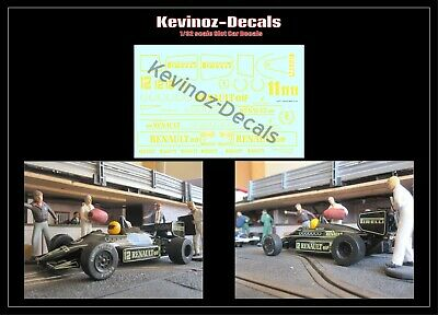 1/32 Scale Decals For Scalextric Lotus 94T Mansell / De Angelis • 4£