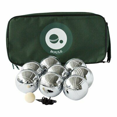 8 Ball Metal Petanque / Boule Set Traditional  Family Garden Game With Carry Bag • 44.50£