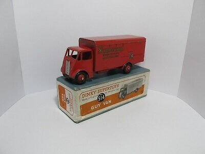 Dinky Toys 514 Guy Van. Slumberland .Lovely Original Condition With Original Box • 97.50£