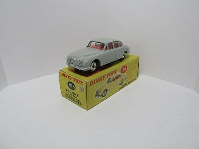 Dinky Toys 195 Jaguar 3.4 Saloon.Grey.Superb Nr Mint Condition With Original Box • 89.50£