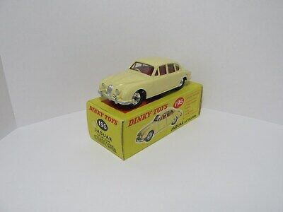 Dinky Toys 195 Jaguar 3.4Saloon.Cream.Superb Nr Mint Condition With Original Box • 89.50£
