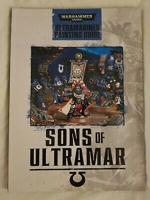 Warhammer 40K - Ultramarines Painting Guide - Sons Of Ultramar • 1£