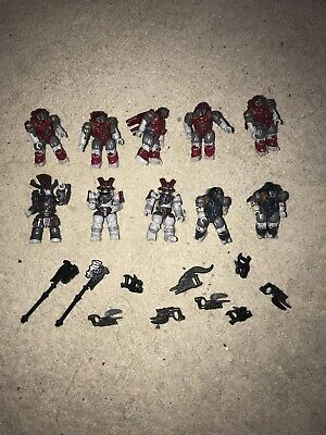 Halo Mega Bloks Brute Bundle 2 10 Figures With Accessories  • 18£