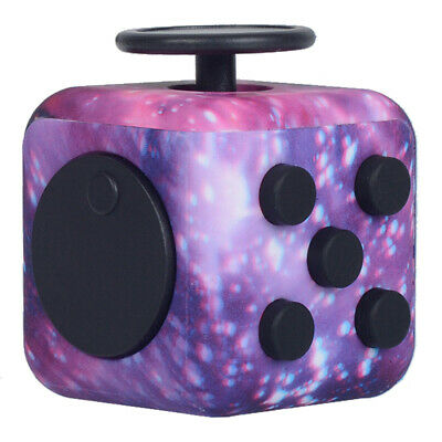 Fidget Cube Spinner Toy For Adults Children Desk Toys Stress Relief Cubes ADHD • 5.99£