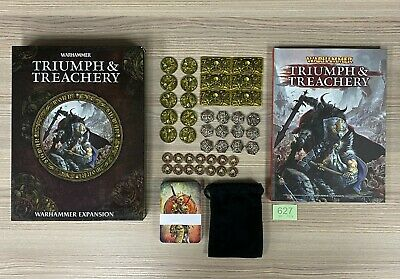 Games Workshop Warhammer Fantasy 8th Edition Triumph And Treachery Expansion • 69.95£