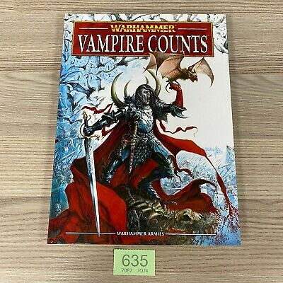 Games Workshop Warhammer Armies Fantasy 8th Edition Army Book Vampire Counts • 34.95£