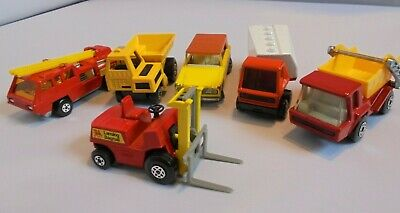 Matchbox Superfast - Lot Of 6 - 63, 26, 22, 18, 37 And 15 • 29.95£