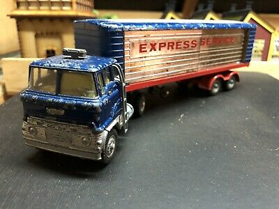 Corgi Cars Major Truck And Trailer  , Ford Tractor, Played With Condition • 15£