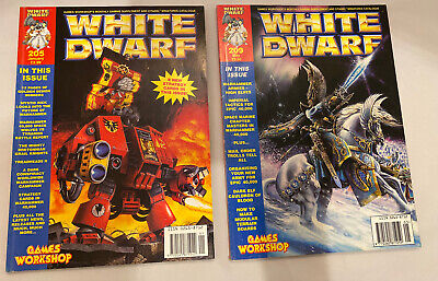White Dwarf Magazine Issues 205 And 209 Good Condition • 2.99£