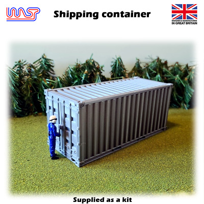 WASP 3D Printed Shipping Container -  Track Side, Scenery, 1/32 • 16£