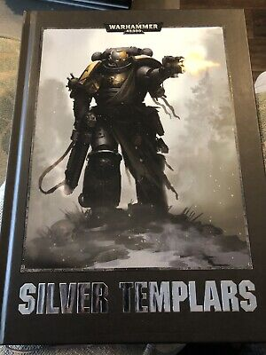 Games Workshop Warhammer 40k Codex Silver Templars Conquest Hardback Primaris • 4.20£