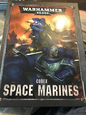 Codex: Space Marines 2019 Warhammer 40k • 1.25£