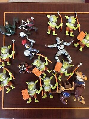 Knights Figures Plus Goblins And Gryphen • 4£