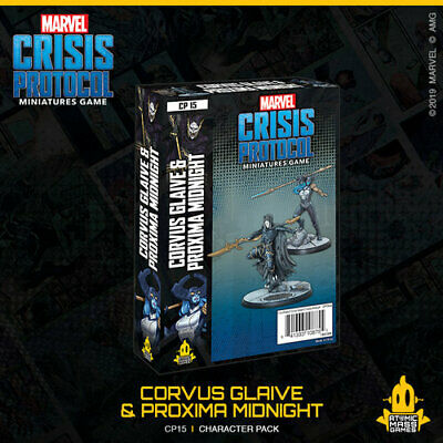 Marvel Crisis Protocol: Corvus Glaive And Proxima Midnight - Just In!! • 35.99£