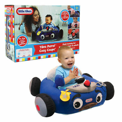Little Tikes Cozy Police Car Coupe Plush Activity Baby Chair Toddler Seat Patrol • 28.99£
