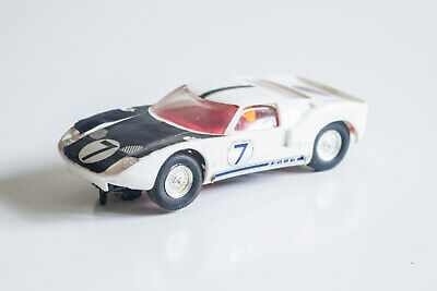 1960s Scalextric C77 Ford GT40 1:32 Slot Car • 29.99£
