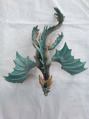 Fantastic Rare Schleich Dragon Ice And Fire With Movable Joints On The Wings • 6.99£