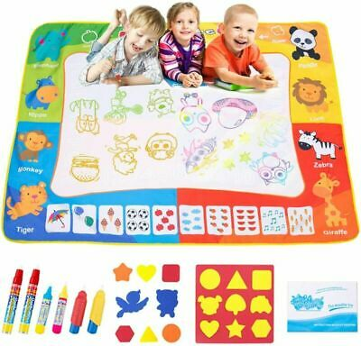 Omew Water Doodle Mat, Drawing Painting Mat Larger Size 120 X 90cm...  • 20.49£