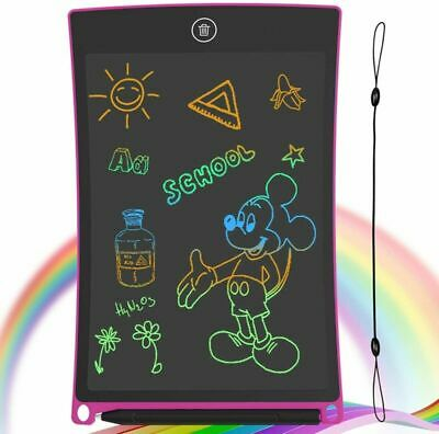GUYUCOM LCD Writing Tablet, 8.5 Inch Drawing Board Erasable Doodle Board Pink  • 11.49£