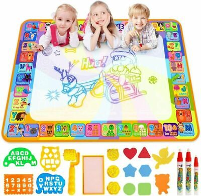 Water Doodle Mat, Larger 100 Red, Green, Blue, Pink,yellow, Orange And So On  • 19.99£