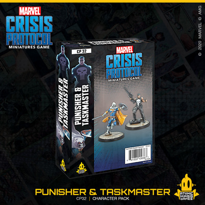 Marvel Crisis Protocol:Punisher & Taskmaster - Pre Order - Expected October 2020 • 34.99£