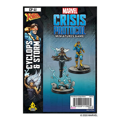 Marvel Crisis Protocol: Storm & Cyclops - Preorder - Expected November 2020 • 34.99£