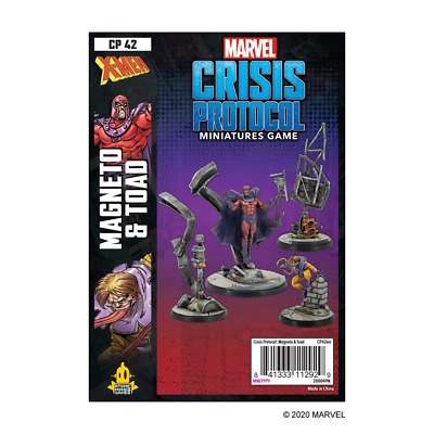 Marvel Crisis Protocol: Mageneto & Toad - Preorder - Expected November 2020 • 39.99£