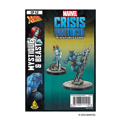 Marvel Crisis Protocol: Mystique & Beast - Preorder - Expected November 2020 • 34.99£