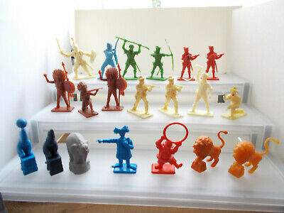 Job Lot Of 20 Kelloggs/crescent Cereal Toy Soldier/circus Figures • 3.99£