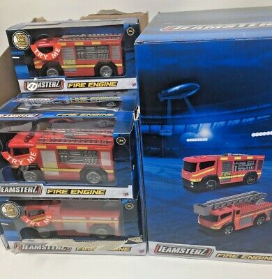 Teamsterz Small Fire Engine With Light & Sound • 5.99£